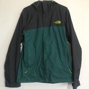 Men's North Face Grey & Green North Face Jacket